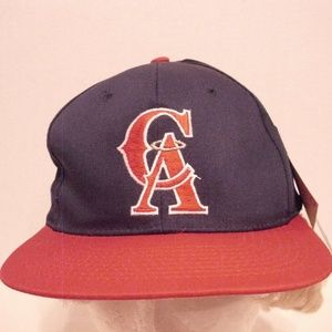 Vintage 1990's California Angels Snap Back Tags On